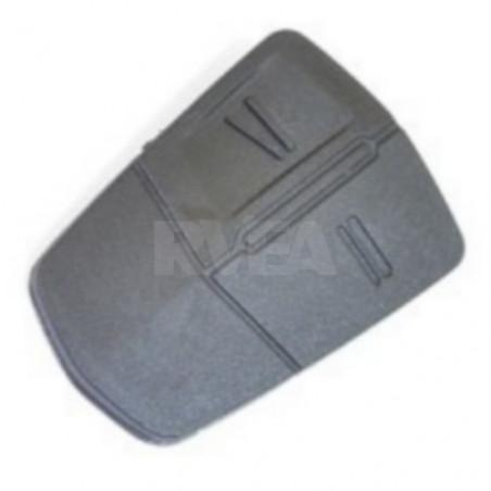 Bouton caoutchouc 2 touches pour Opel
