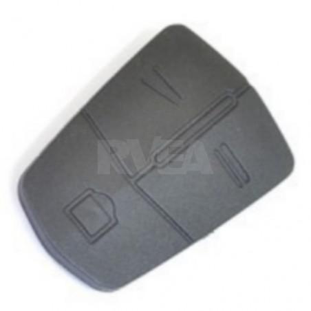 Bouton caoutchouc 3 touches pour Opel
