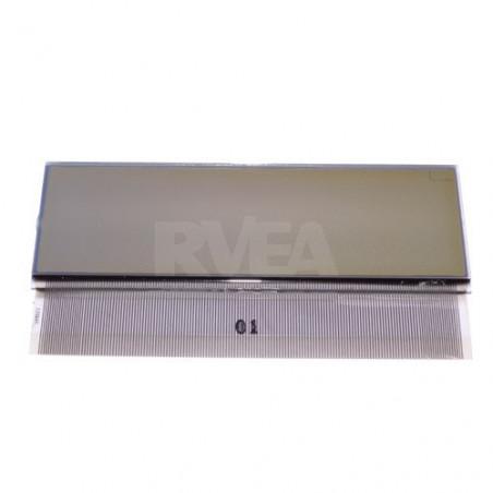 Ecran LCD pour commande climatisation fond clair Peugeot 307, 407