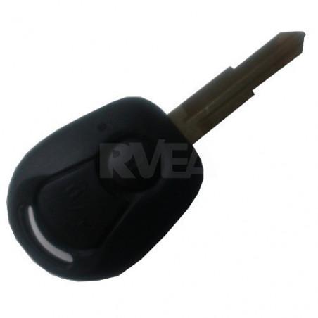 Coque de clé plip 2 boutons pour SsangYong
