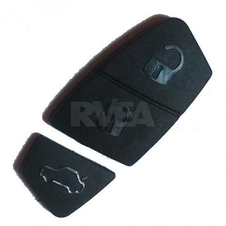 Bouton caoutchouc 3 touches noir pour Iveco