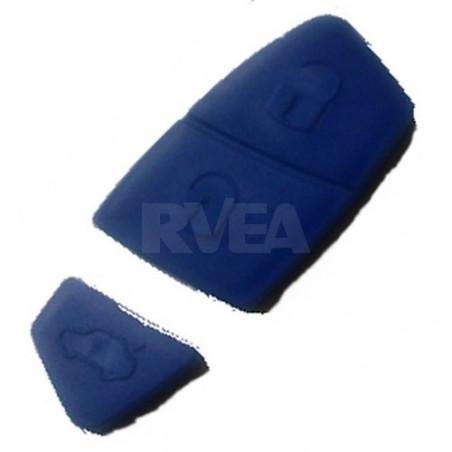 Bouton caoutchouc 3 touches bleu pour Iveco