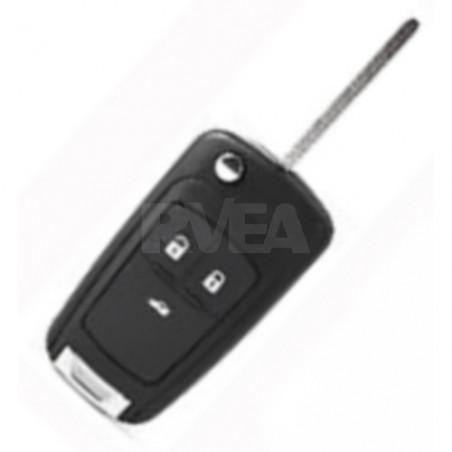 Coque de clé 3 boutons pour Opel