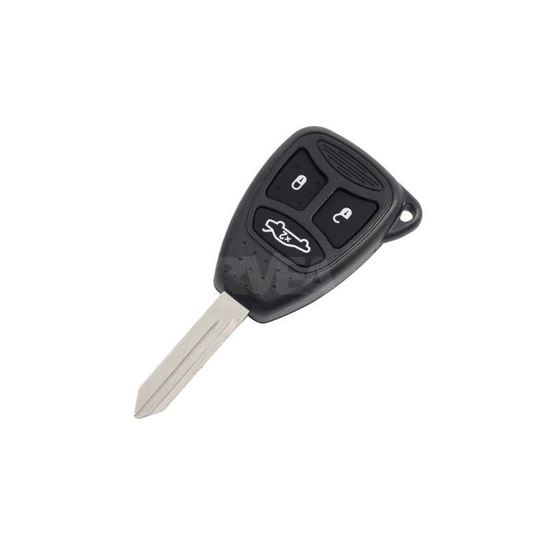 Boitier de clé 3 boutons Chrysler 300 C, Stratus