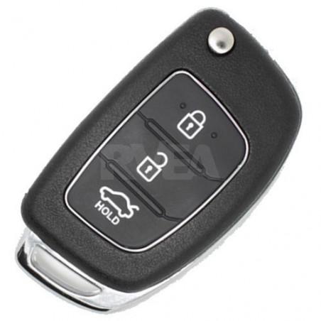 Coque de clé 3 boutons pour Hyundai