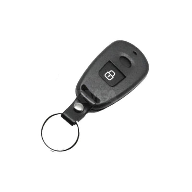 Coque télécommande 2 boutons pile sur le circuit pour Hyundai