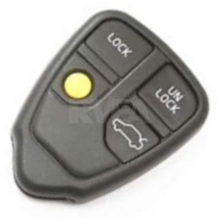 Coque télécommande 4 boutons pour Volvo