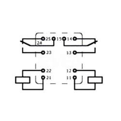 Relais pour la fermeture centralisée et lève-vitre V23084C2001A403