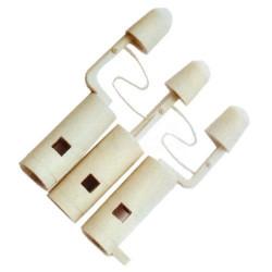 Boutons de commande blanc pour combiné fiat