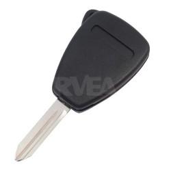 Coque de clé 2 boutons Chrysler 300 C, Voyager