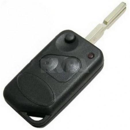 Coque de clé 2 boutons pour MG