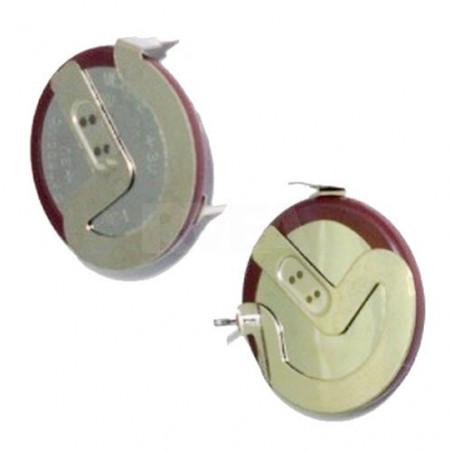 Pile bouton rechargeable VL2020 pour clé Mini