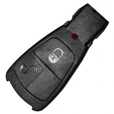 Coque de clé 2 boutons pour Mercedes
