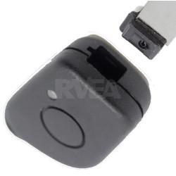 Coque de clé 1 bouton pour Peugeot 406