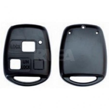 Boitier 2 et 3 boutons Toyota pour remplacer votre clé sans faire tailler l'insert