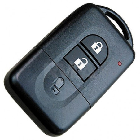 Coque télécommande 2 boutons pour Nissan Quashqai, Micra