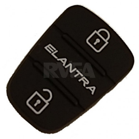 Bouton caoutchouc 3 touches pour Hyundai Elantra
