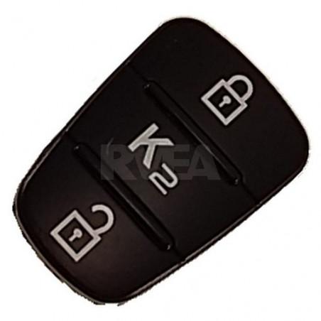 Bouton caoutchouc 3 touches pour Kia K2