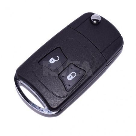 Coque de clé transformable 2 boutons Chrysler PT Cruiser, Voyager