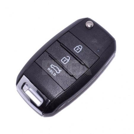 Coque de clé 3 boutons Kia Carens, Cee'd, Optima