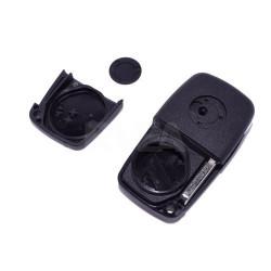 Télécommande 3 boutons Fiat Ducato, Grande Punto pile au dos de la clé