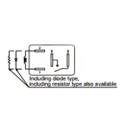 Relais pour boitier fusible Renault ACV31012M04