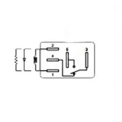 Relais pour boitier fusible Renault ACV11112-M03