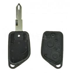 Boitier télécommande 2 boutons pour Peugeot 106 306 pile sur le circuit