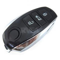 Coque de clé télécommande 3 boutons pour Volkswagen Touareg