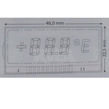 Ecran LCD gauche pour compteur Mercedes