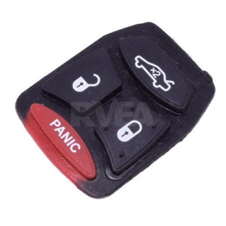 Bouton caoutchouc 4 touches Dodge Caliber, Journey