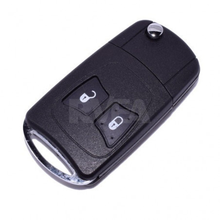 Coque de clé transformable 2 boutons Dodge Nitro, Ram, Viper
