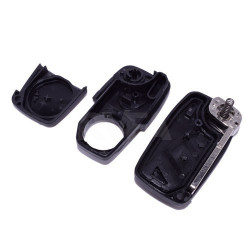 Télécommande 2 boutons Fiat Ducato, Grande Punto pile au dos de la clé