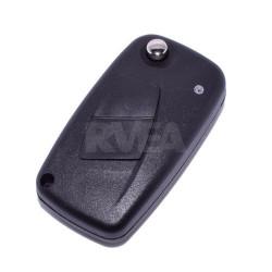 Coque de clé 2 boutons Fiat Ducato, Panda, Punto pile sur le coté CE0678