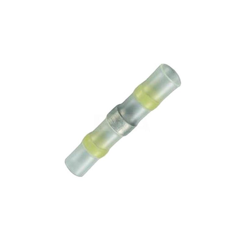 Cosse thermo rétractable pour soudage jaune