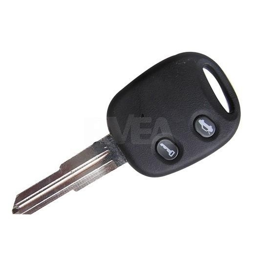 Coque de clé 2 boutons Chevrolet Cruze, Volt