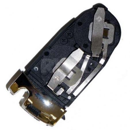 Support attache pile pour boitier de télécommande plip Mercedes