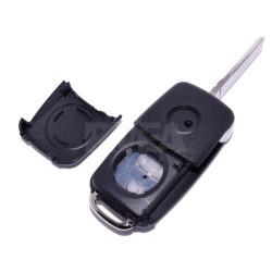 Coque de clé 4 boutons Volkswagen sharan
