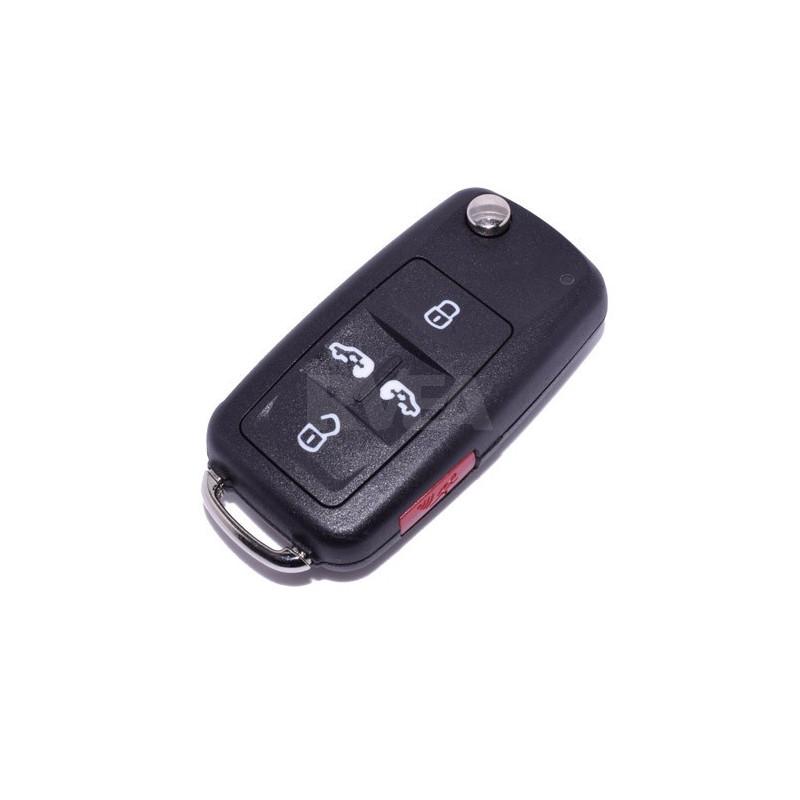 Coque de clé 5 boutons Volkswagen sharan