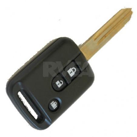 Coque de clé 3 boutons pour Nissan