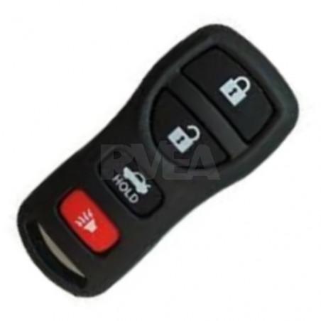Coque télécommande 4 boutons pour Nissan