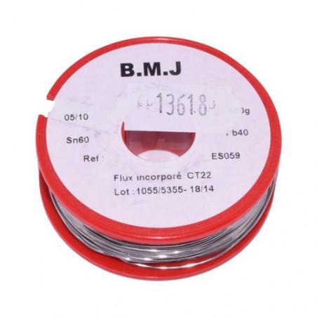 Fil à souder pour électronique 0,5mm 100g