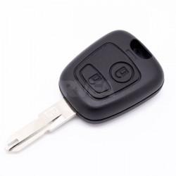 Coque de télécommande 2 boutons pour Peugeot 206