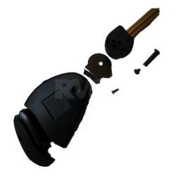 Coque de clé 2 boutons pour Peugeot 806 Expert