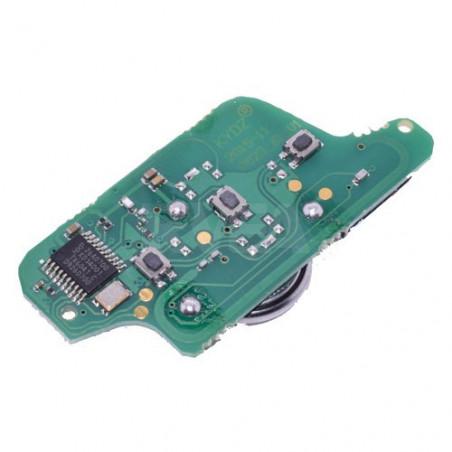 Circuit imprimé FSK CE0523 pour coque de clé 3 boutons Peugeot