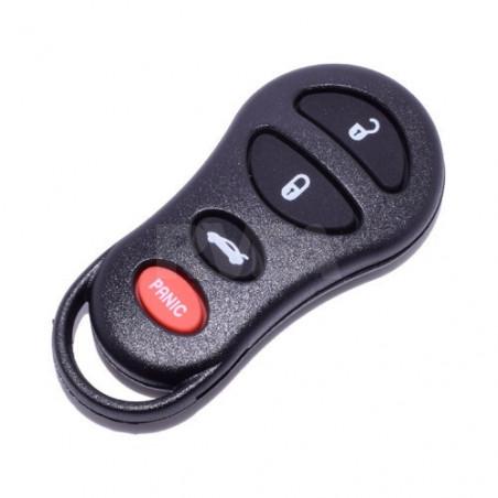 Coque télécommande 4 boutons pour Jeep