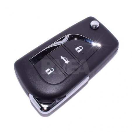Coque de clé 3 boutons Toyota Corolla Verso