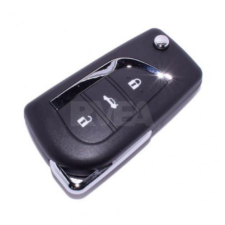 Coque de clé 3 boutons Toyota Auris, Corolla Verso