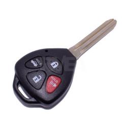 Coque de clé 4 boutons pour Toyota