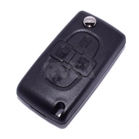 Boitier de clé 4 boutons Citroën C8